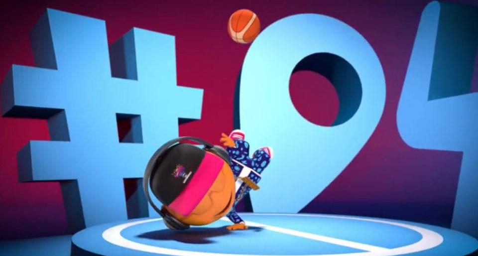 Ευρωμπάσκετ: Αποκαλύφθηκε ο «Bounce» η μασκότ της διοργάνωσης