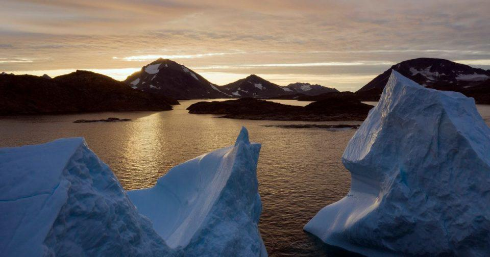 Γροιλανδία: Οι κάλπες έβγαλαν… δράκο