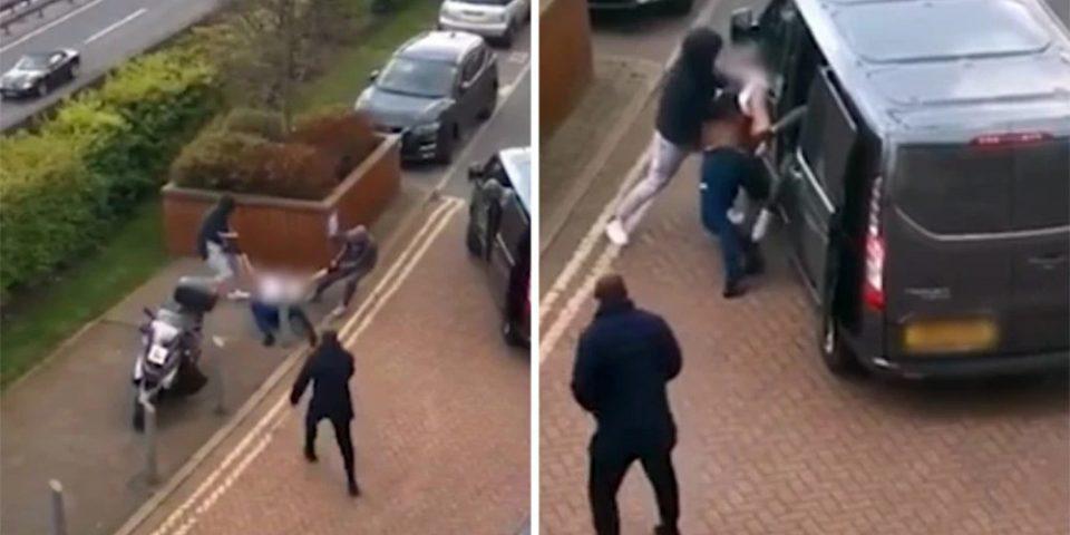 Βίντεο ντοκουμέντο από απαγωγή άνδρα μέρα μεσημέρι στο Λονδίνο