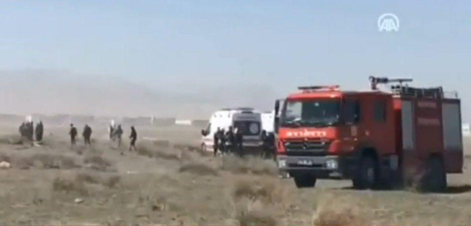 Τουρκία: Πτώση εκπαιδευτικού αεροπλάνου – Νεκρός ο πιλότος