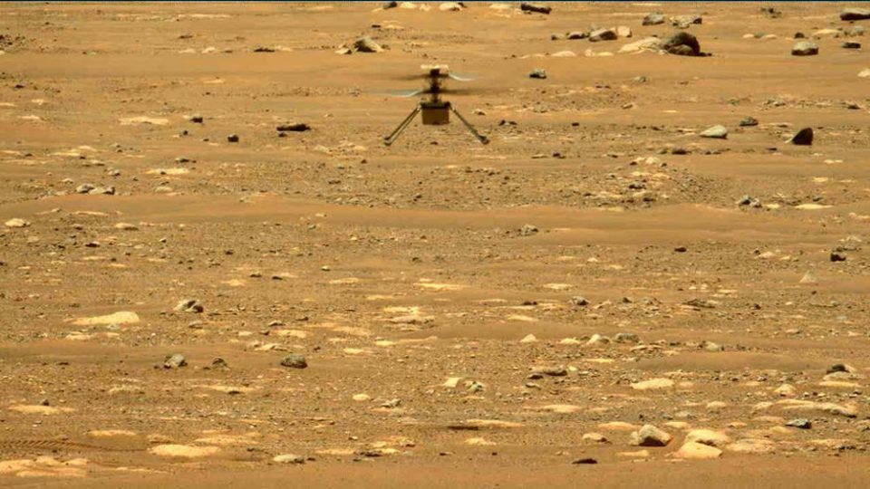 NASA: Ριψοκίνδυνη η δεύτερη πτήση του ελικοπτέρου Ingenuity στον Άρη