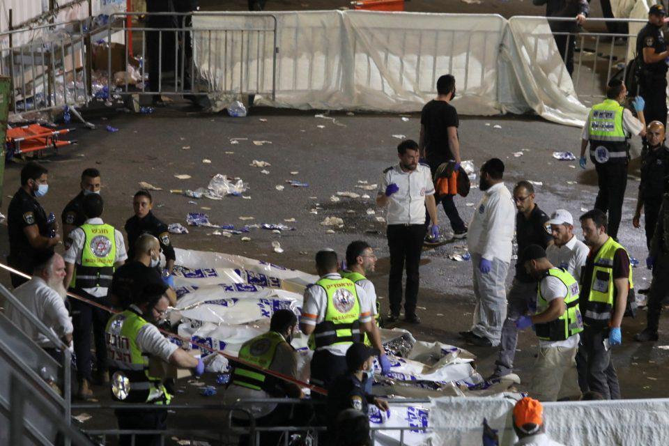 Ισραήλ: Η γιορτή που κατέληξε σε τραγωδία - Σοκάρουν τα βίντεο από το ποδοπάτημα (video)