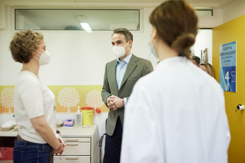 Μητσοτάκης: Aρχές Μαΐου θα έχουν εμβολιαστεί όλοι οι άνω των 60