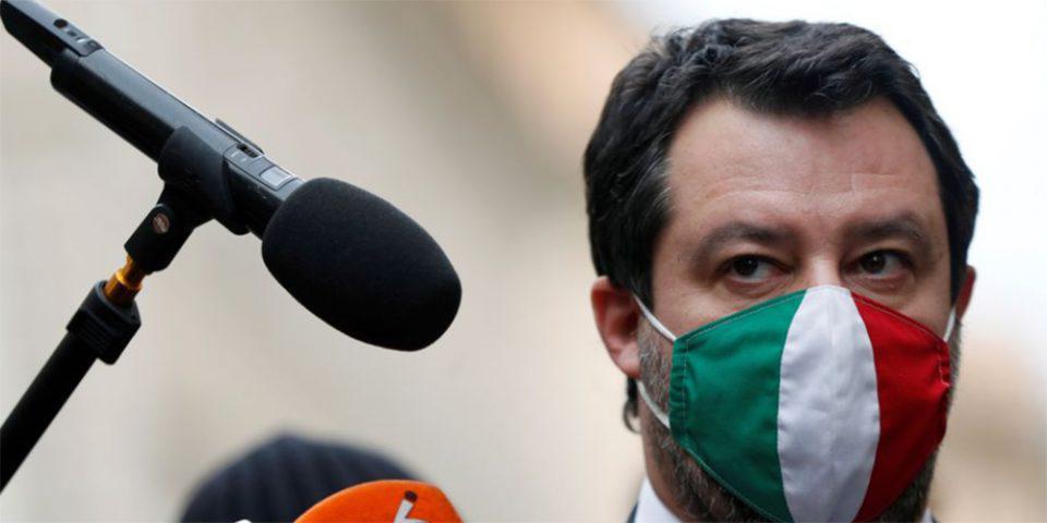 Ματέο Σαλβίνι: Παραπέμπεται σε δίκη για στέρηση ατομικής ελευθερίας