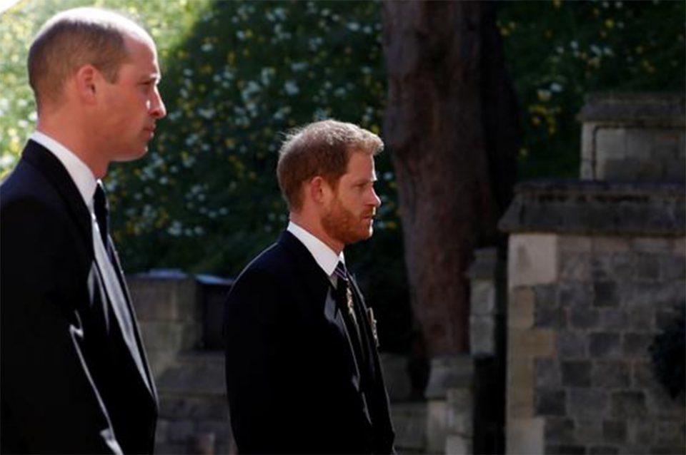 Πρίγκιπας Φίλιππος: Η «επανένωση» Ουίλιαμ - Χάρι στην κηδεία