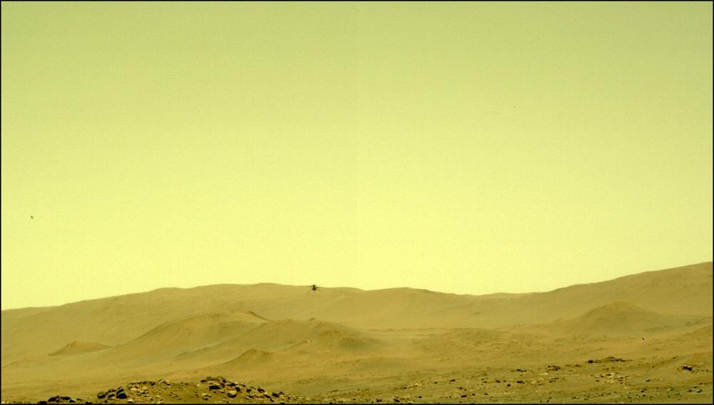 «Ingenuity»: Πραγματοποίησε την πέμπτη του πτήση στον πλανήτη Άρη