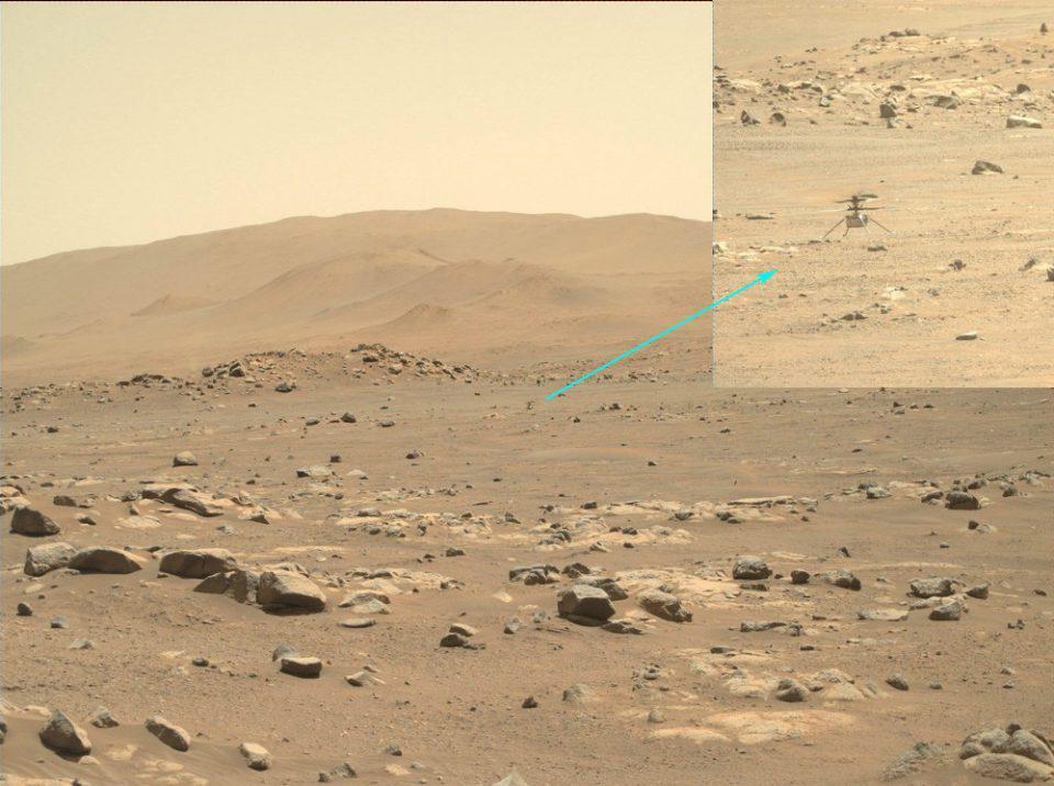 Το «Ingenuity» της NASA πραγματοποίησε την πέμπτη του πτήση στον πλανήτη Άρη