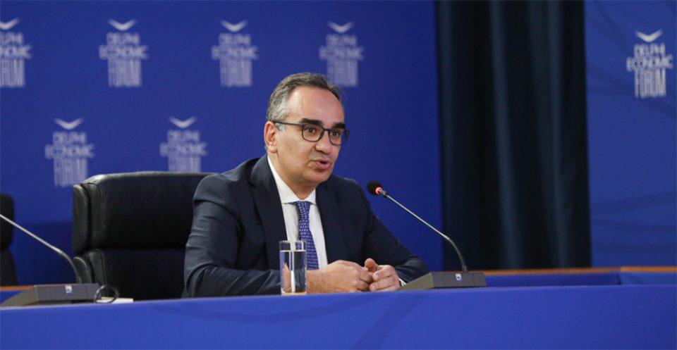 Κοντοζαμάνης στο Οικονομικό Φόρουμ των Δελφών: Προτεραιότητα η αντιμετώπιση του καρκίνου
