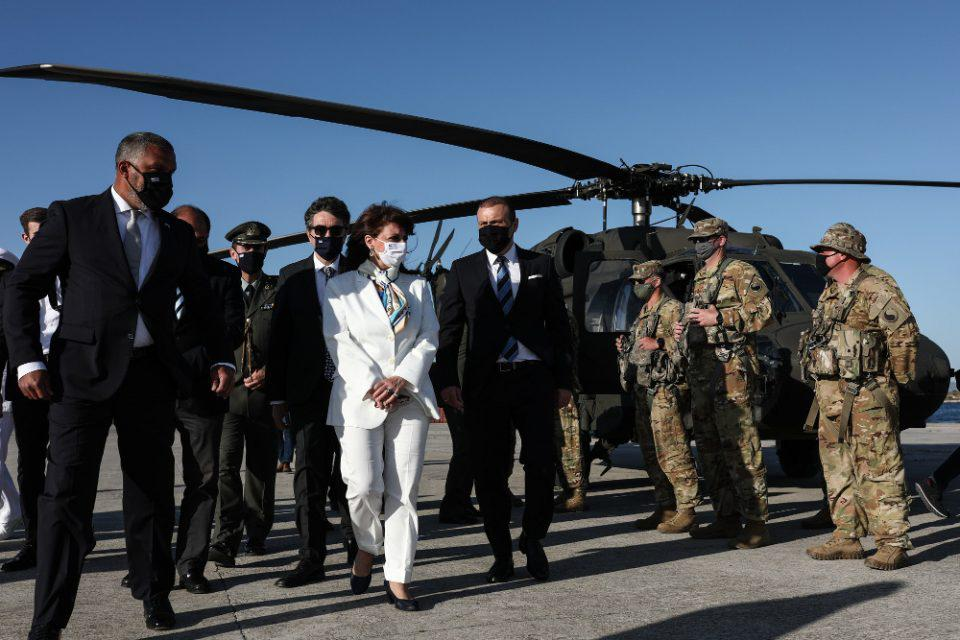 Σακελλαροπούλου σε Τουρκία: Η Ελλάδα δεν δέχεται απειλές από κανέναν
