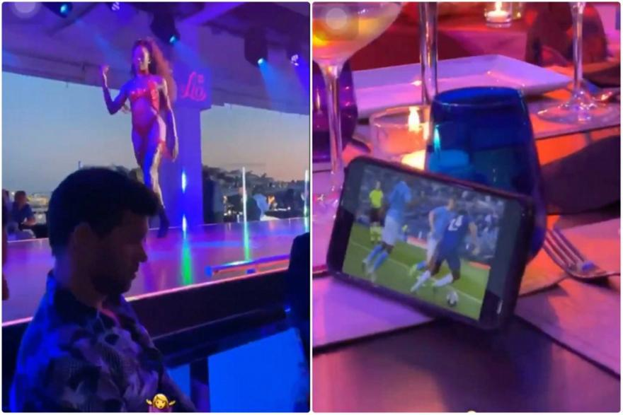 Ο Μπάλακ πήγε σε στριπ κλαμπ κξαι έβλεπε τον τελικό του Champions League