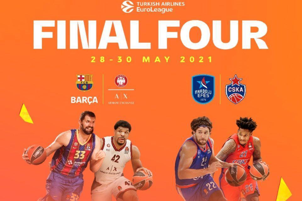Euroleague: Τιτανομαχίες στο Final Four – Αυτό είναι το πρόγραμμα