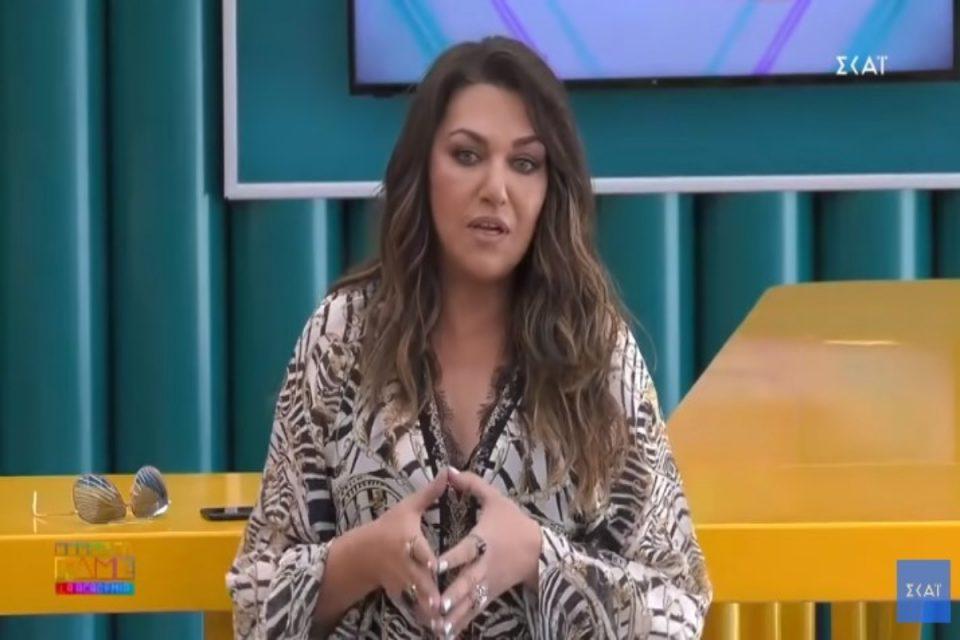 Καίτη Γαρμπή: Μετά την εμφάνιση στην Eurovision ξέσπασμα με λυγμούς [βίντεο]