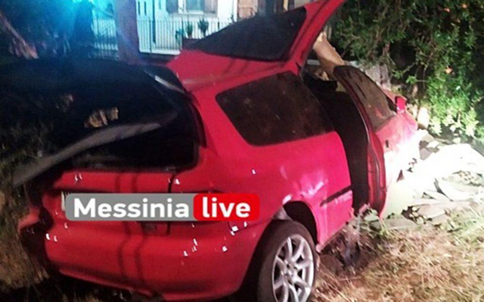 Τραγωδία στην άσφαλτο: Νεκροί σε τροχαίο δύο 20χρονοι στη Μεσσηνία