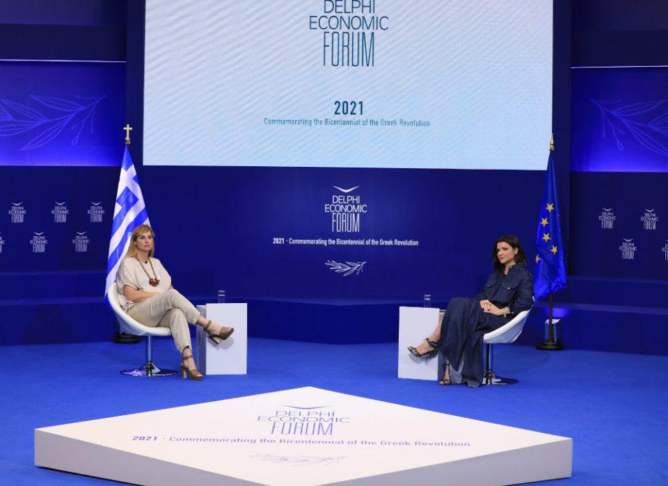 Σοφία Μπεκατώρου: H νέα συγκλονιστική ομιλία της στο Οικονομικό Φόρουμ Δελφών