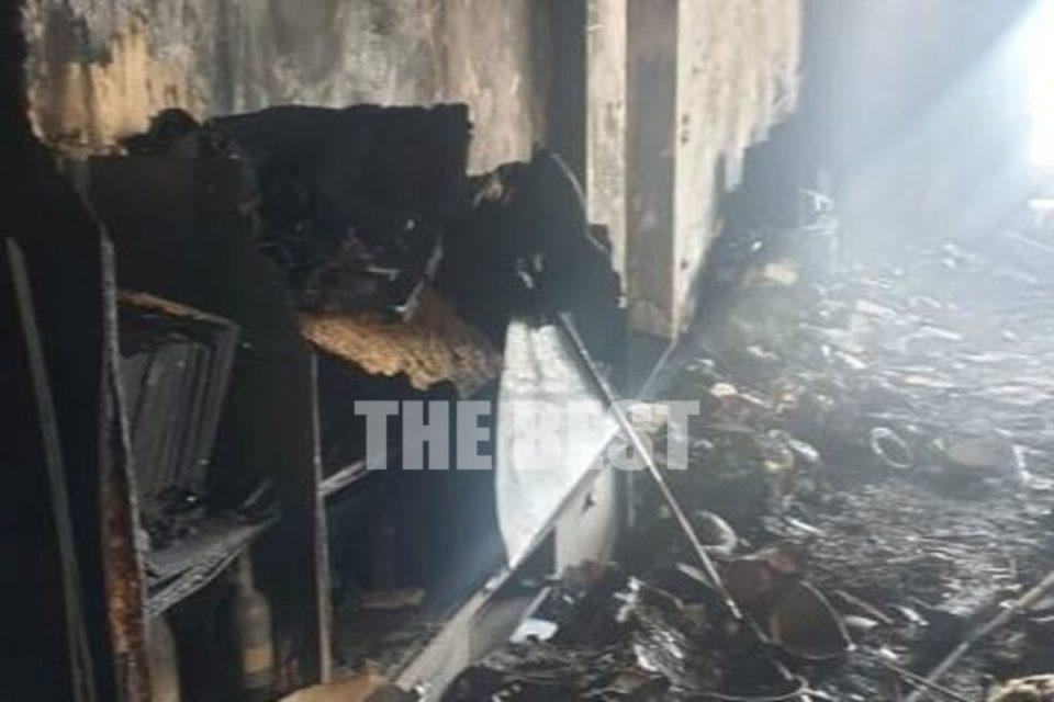 Πάτρα: Δεν πίστευε στα μάτια της – Κάηκε το διαμέρισμά της από μία λαμπάδα