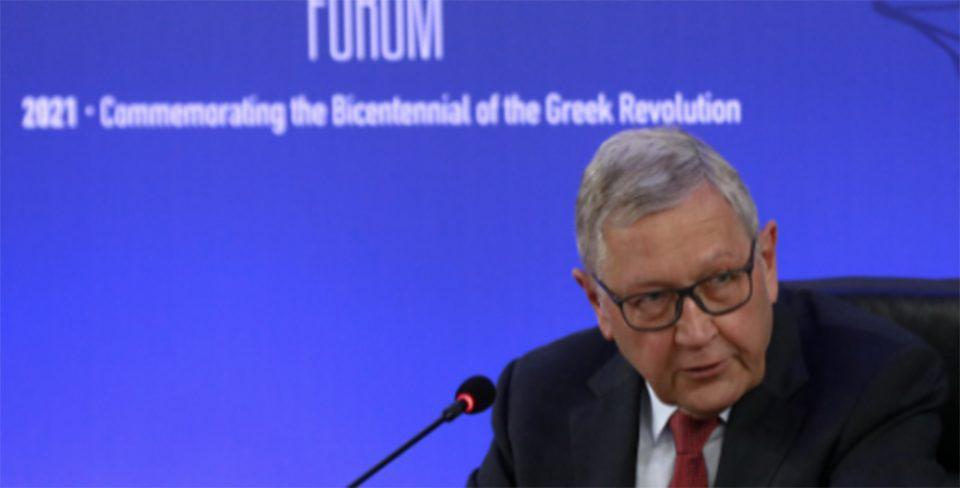 Ρέγκλινγκ: Μεγαλύτερο το μερίδιο της Ελλάδας από το Ταμείο Ανάκαμψης