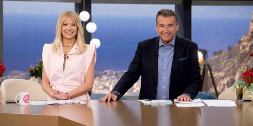 Γιώργος Λιάγκας - Φαίη Σκορδά: Τα νούμερα τηλεθέασης έφεραν χαμόγελα!