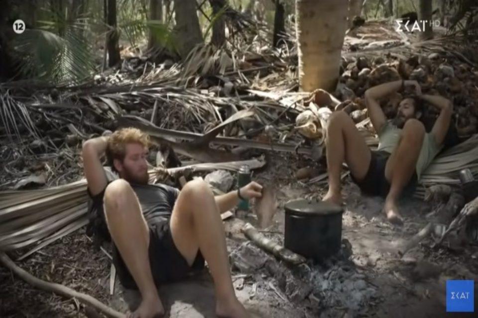Survivor Spoiler: Τα πάνω κάτω στο ριάλιτι – Χωρίζουν στα δύο την παραλία James και Νίκος [video]