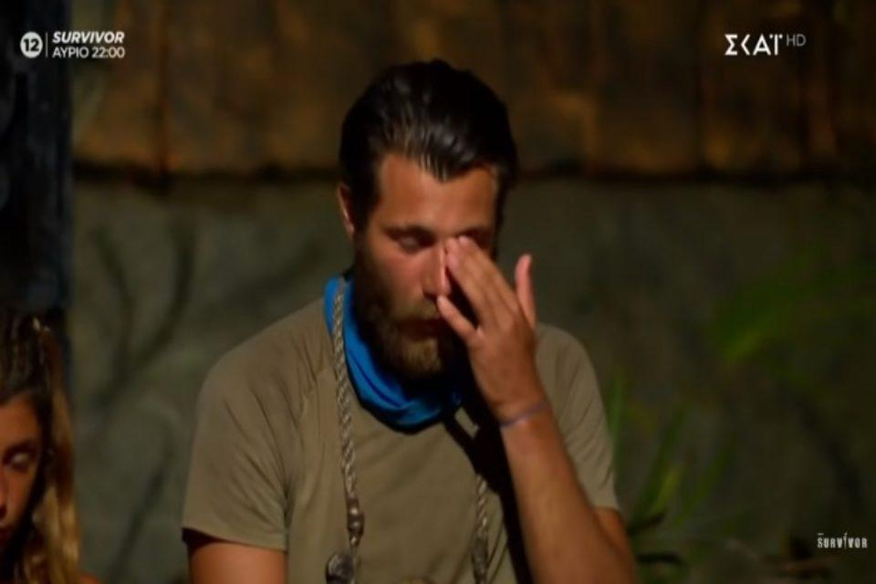 Survivor: Ράκος ο Νίκος Μπάρτζης μετά το «αντίο» του Τζέιμς - Μεταφέρθηκε στο νοσοκομείο λίγο πριν τη διαφαινόμενη αποχώρηση