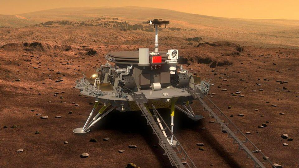 Η Κίνα προσεδάφισε «με την πρώτη» ρομπότ στον Αρη