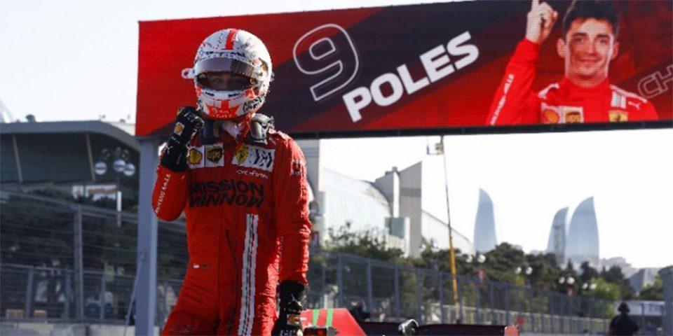 Φόρμουλα Ένα: Ο Λεκλέρκ πήρε την pole position για 2η συνεχόμενη φορά