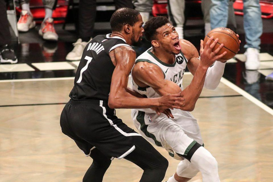 Μπακς-Νετς: Βαθιά υπόκλιση στον Αντετοκούνμπο από το NBA – Άλωσε το Μπρούκλιν και πέρασε στους τελικούς της Ανατολής