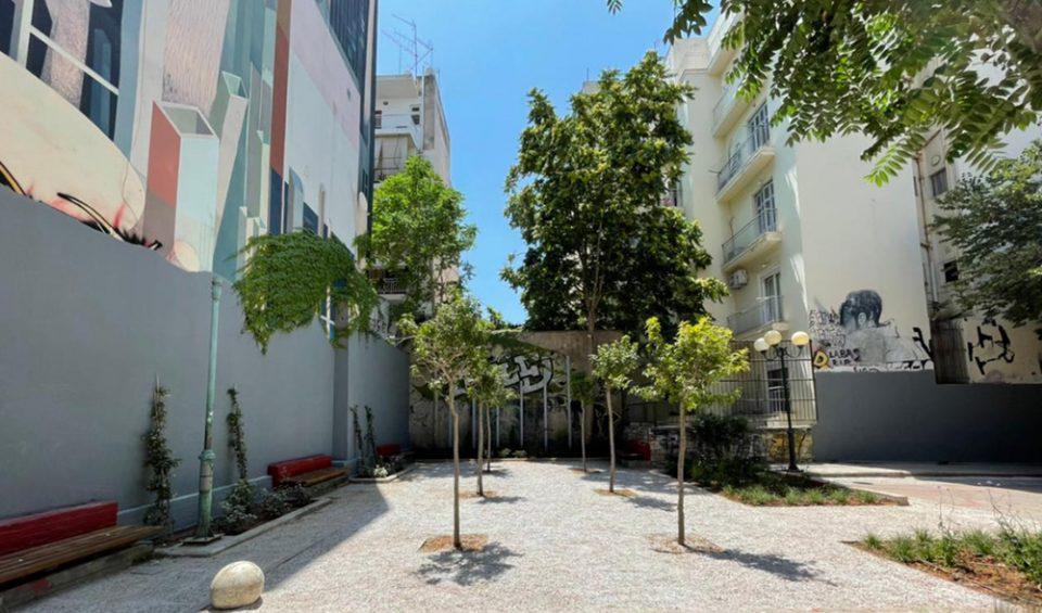 Δήμος Αθηναίων: Τα «πάρκα τσέπης» επεκτείνονται [εικόνες]