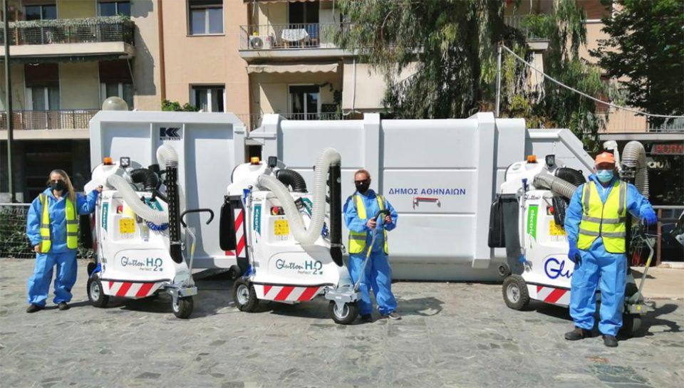 Δήμος Αθηναίων: Ο οδοκαθαρισμός της πόλης στον 21ο αιώνα [εικόνες]