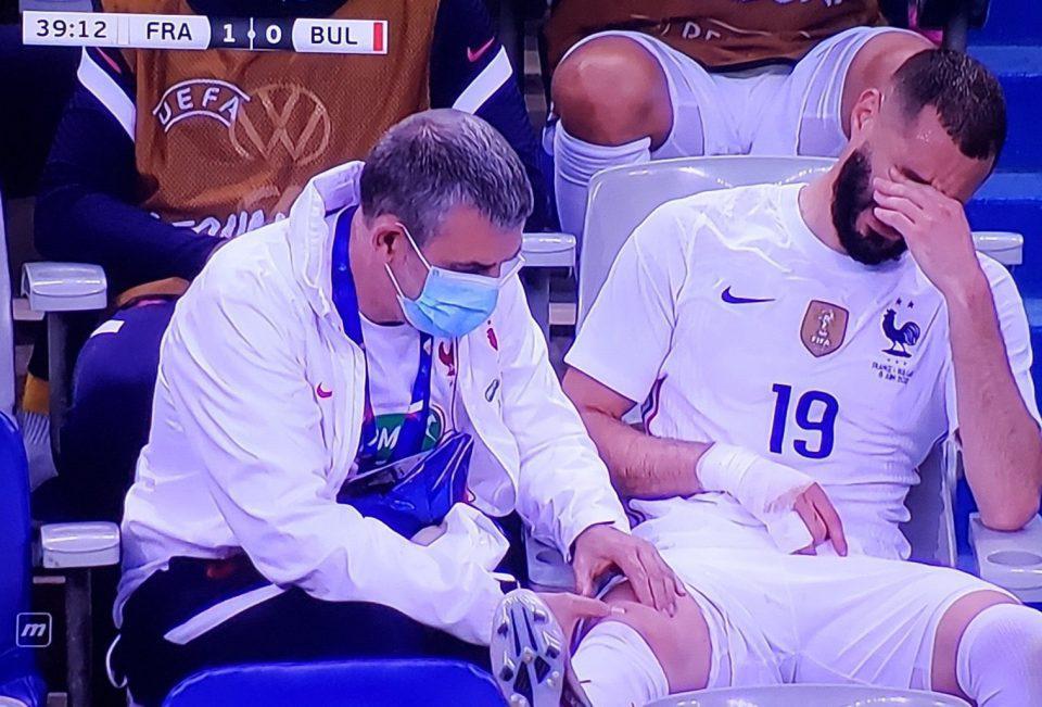Euro 2020: ΣΟΚ με Μπενζεμά στη Γαλλία - Τραυματίστηκε στο γόνατο και έβαλε τα κλάματα [βίντεο]