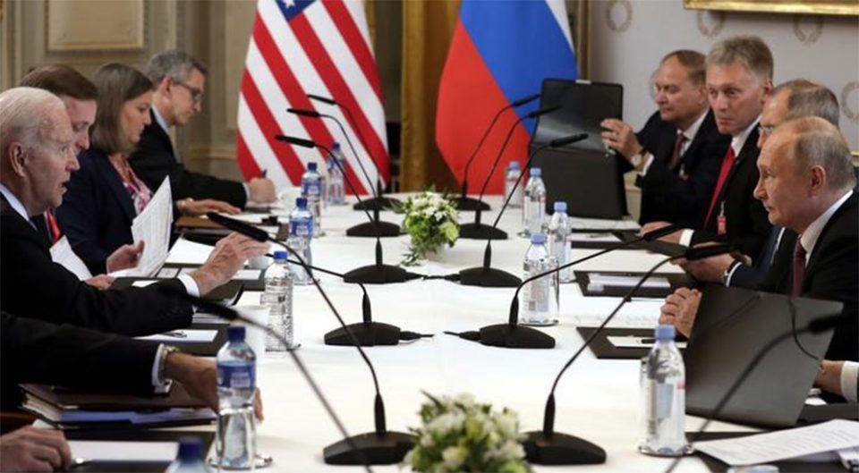 Σύνοδος Γενεύης: Ευρεία γκάμα θεμάτων στη συνάντηση Μπάιντεν-Πούτιν