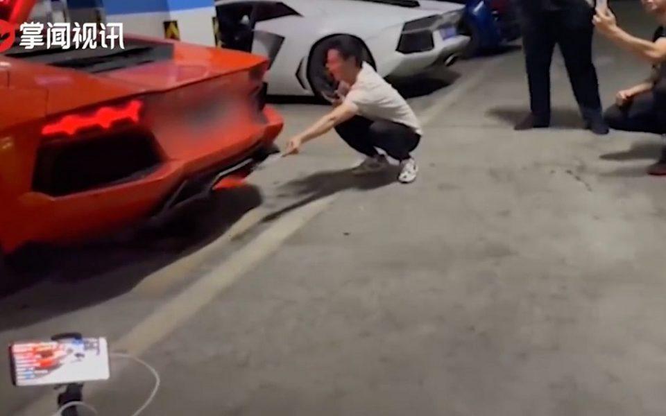 Οδηγός καταστρέφει την Lamborghini του προσπαθώντας να …ψήσει κεμπάπ