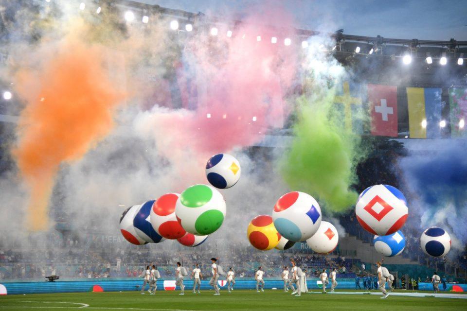 Euro 2020: Εντυπωσιακή τελετή έναρξης στο τουρνουά – Δείτε εικόνες από το πάρτι που έστησαν οι Ιταλοί