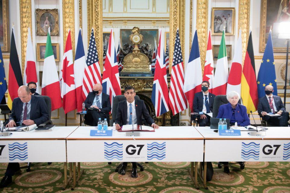 Παγκόσμιος εταιρικός φόρος: Ιστορική συμφωνία από τους G7
