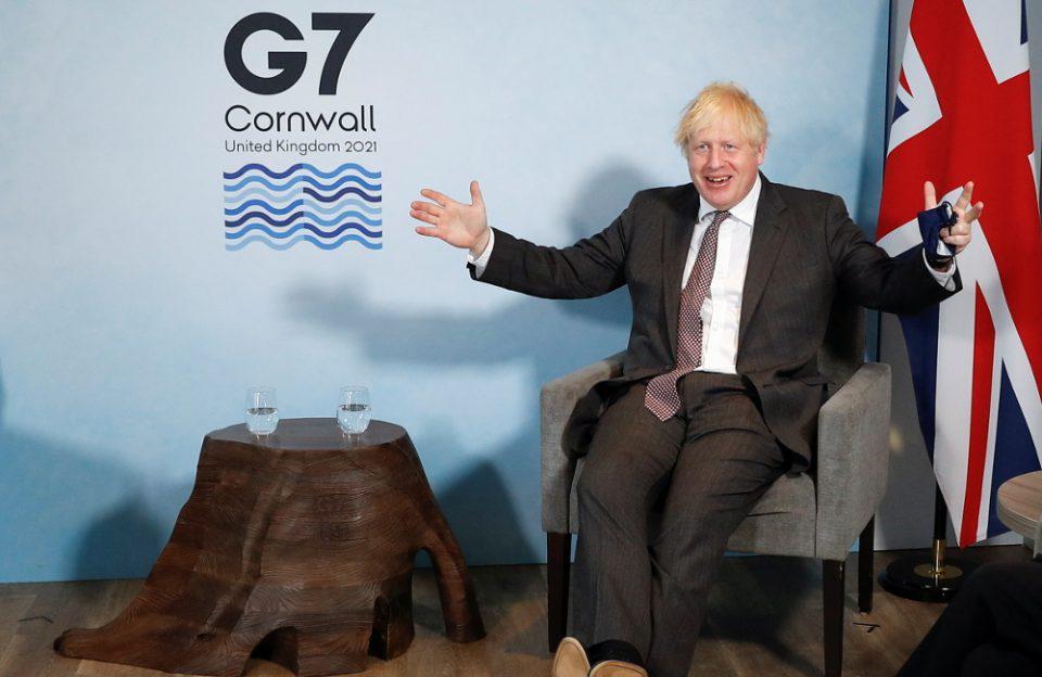 G7: Ο Τζόνσον προειδοποιεί την ΕΕ για το εμπόριο μετά το Brexit