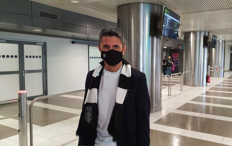 ΠΑΟΚ: Στην Θεσσαλονίκη ο Λουτσέσκου – «Είμαι χαρούμενος που είμαι εδώ»