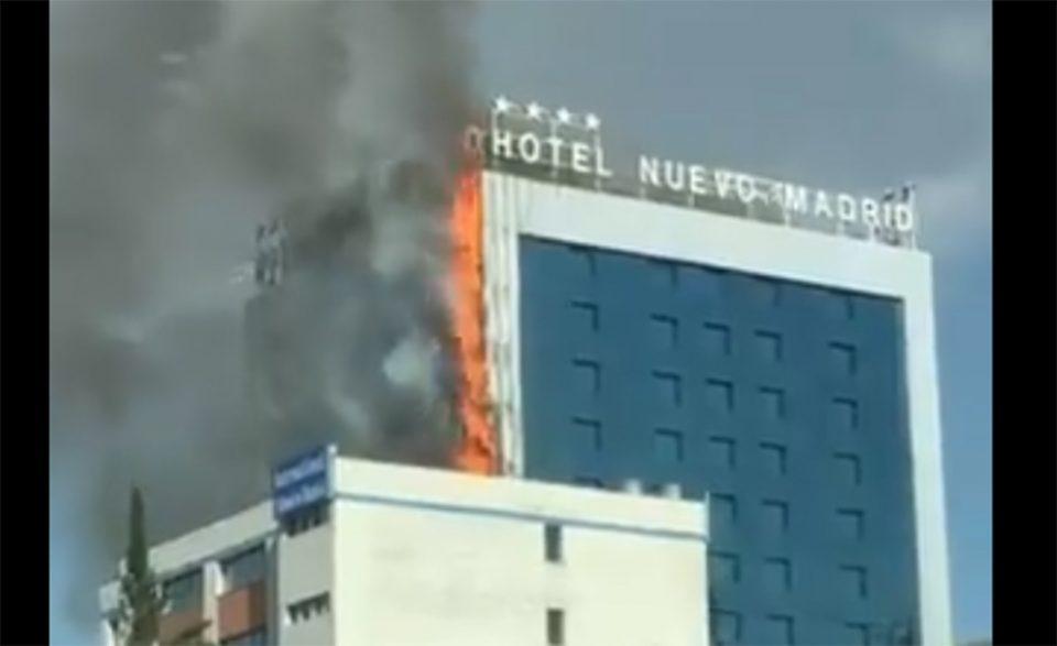 Συναγερμός στη Μαδρίτη: Στις φλόγες μεγάλο ξενοδοχείο [βίντεο]