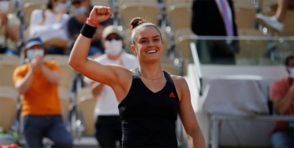 Roland Garros: Η όμορφη κίνηση της Μαρίας Σάκκαρη [βίντεο]