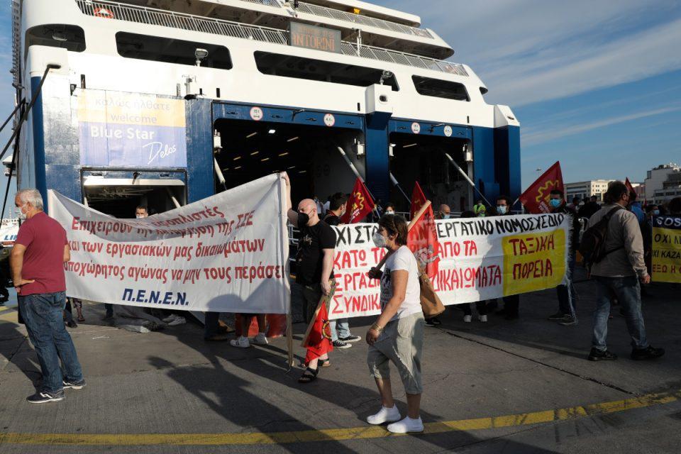 Ανεστάλη η απεργία της ΠΕΝΕΝ – Στις 9 ξεκινούν τα δρομολόγια