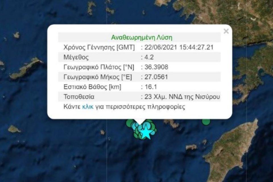 Σεισμός ΤΩΡΑ: «Κουνήθηκε» η Νίσυρος