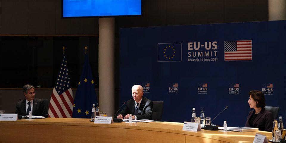 Σύνοδος Ε.Ε – ΗΠΑ: Κορονοϊός, εμπόριο και κλίμα μεταξύ των θεμάτων