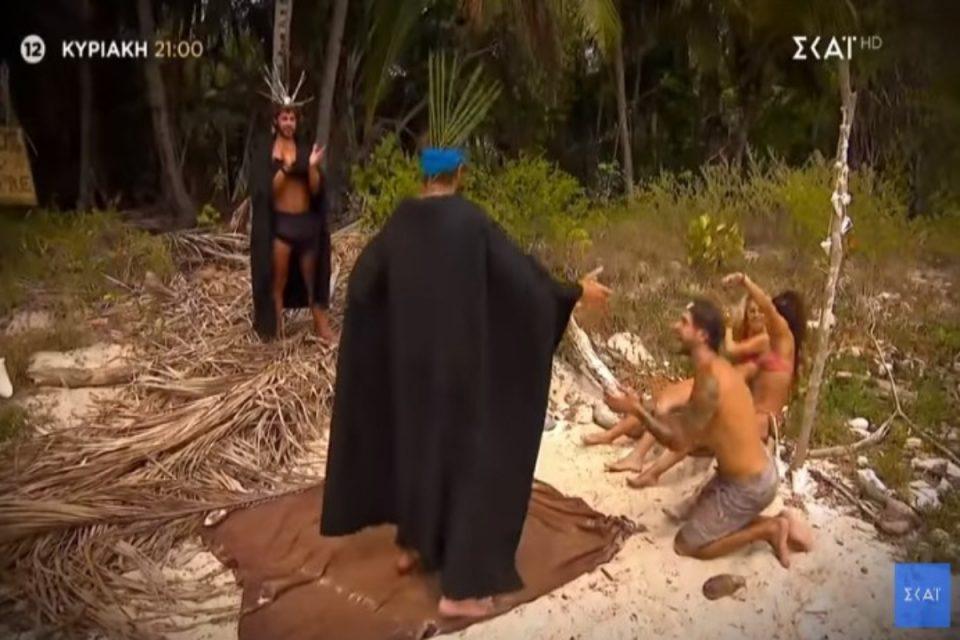 Survivor: Συγκλονιστικό το trailer της Κυριακής - Συντετριμμένοι Σάκης και Μαριαλένα, κάνουν πάρτι οι Amigos