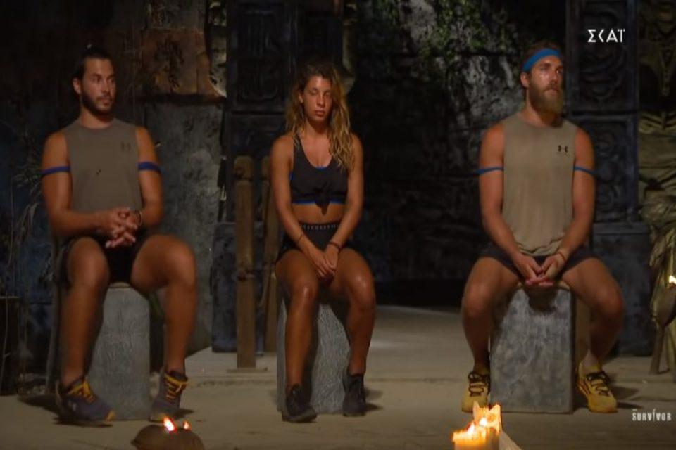 Survivor: Αυτός είναι ο τρίτος υποψήφιος – «Μας πετσόκοψε ο Σάκης» [βίντεο]