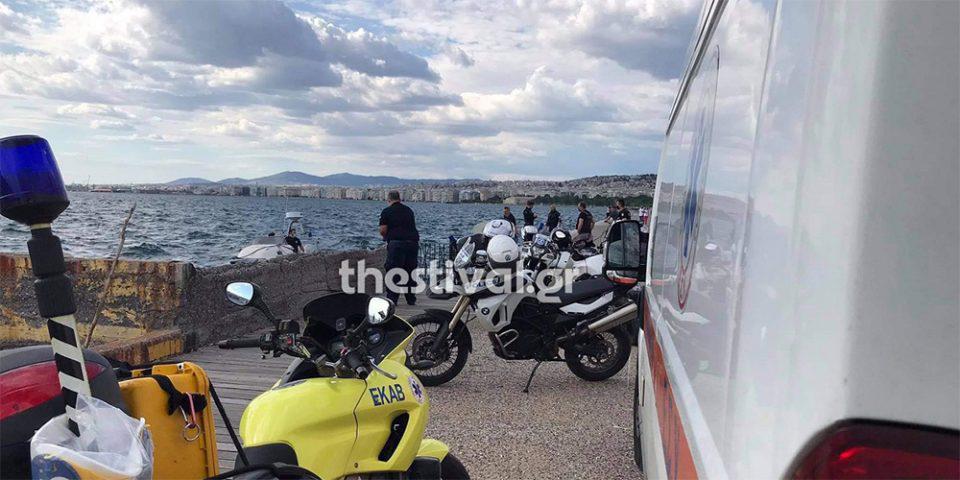 Θεσσαλονίκη: Νεκρός ανασύρθηκε ηλικιωμένος από τον Θερμαϊκό
