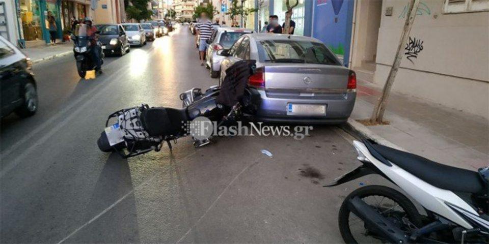 Χανιά: Στο νοσοκομείο 10χρονο παιδί που παρασύρθηκε από μηχανή