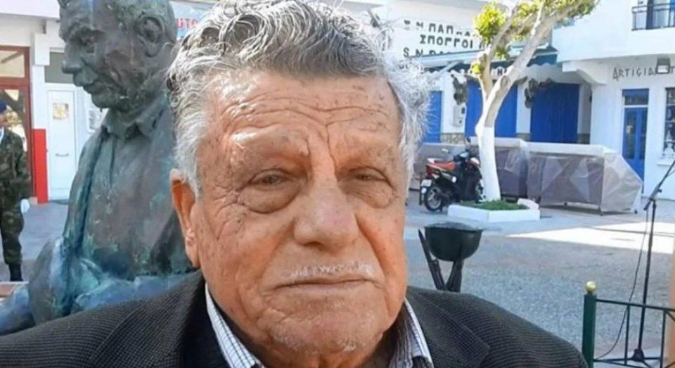 Ρόδος: Πέθανε ο «βοσκός των Ιμίων», Αντώνης Βεζυρόπουλος