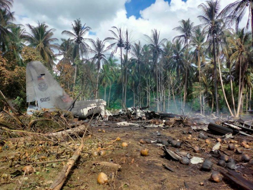 Φιλιππίνες: Στους 29 οι νεκροί από την συντριβή στρατιωτικού αεροσκάφους