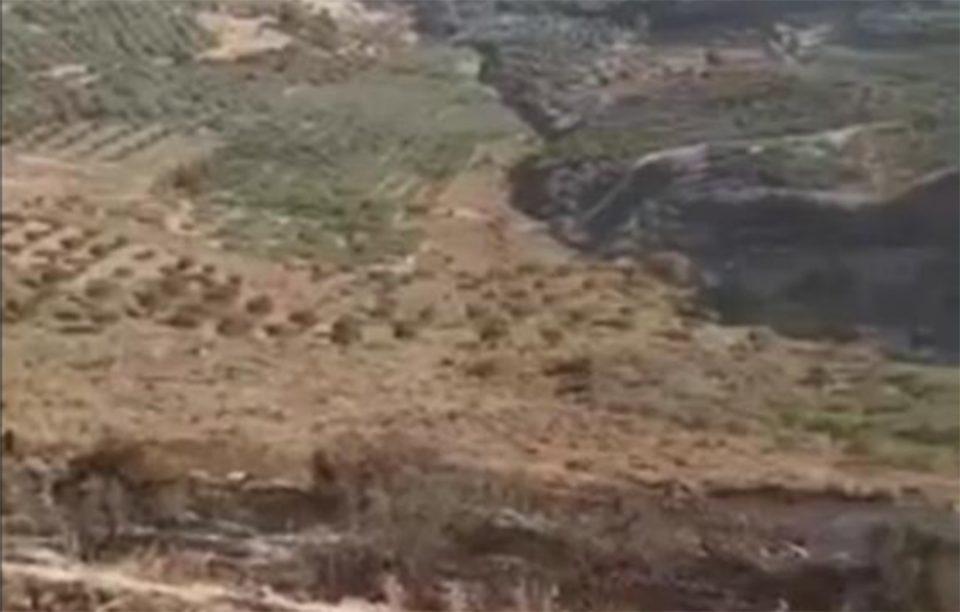 Κρήτη: Από σπινθήρα η πυρκαγιά στα Άνω Μούλια – Μεγάλη κινητοποίηση