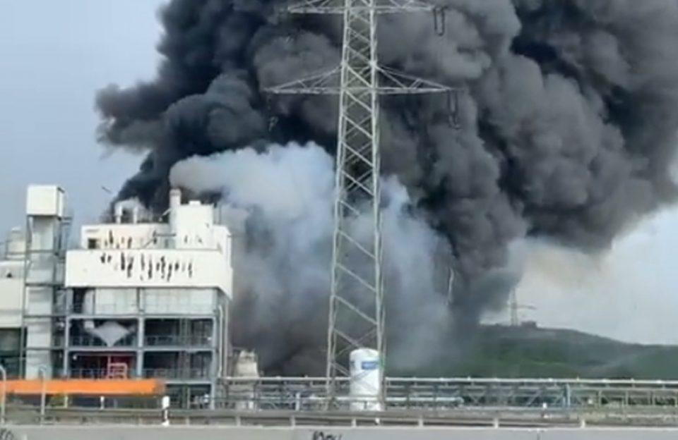 Λεβερκούζεν: Έκρηξη σε χημικό εργοστάσιο - Ανησυχία για τοξικό νέφος