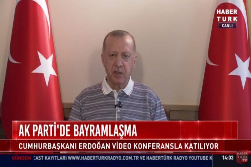 Σάλος στην Τουρκία: Το βίντεο που δείχνει αποδυναμωμένο τον Ερντογάν μετά τις απειλές του στην Κύπρο