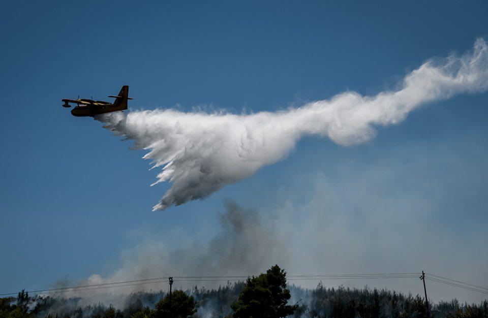 Μεγάλη φωτιά στην Κω – Απειλείται κατοικημένη περιοχή